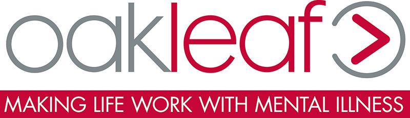 Oakleaf charity Guildford logo