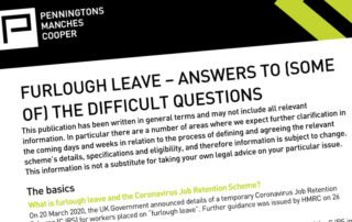 Furlough Leave Advice