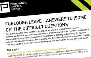 Furlough Leave Advice