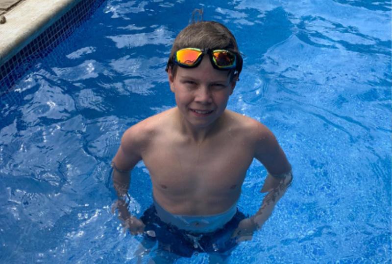 Jake Gilbert Swimming for Laptops