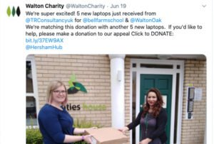 Charity Laptop Donations