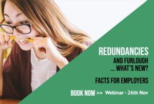 Redundancies and Furlough, What's New?