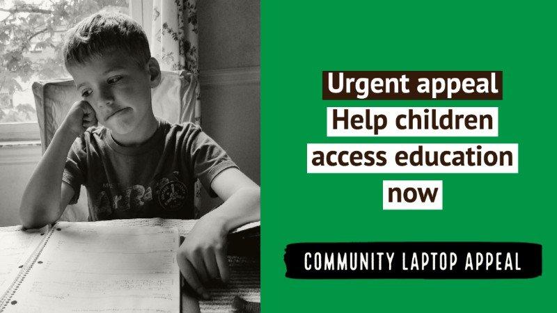 Urgent laptop appeal