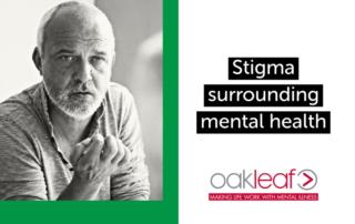 Stigma surrounding mental health image