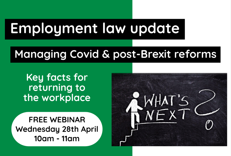 Employment law webinar icon