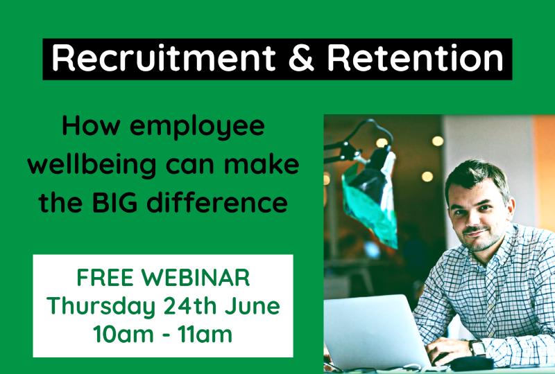 Recruitment & Retention Webinar Icon