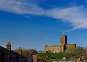 View of Guildford Cathedral