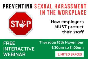webinar on preventing sexual harassment
